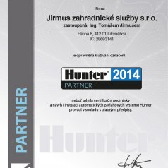 2014 - Hunter partner